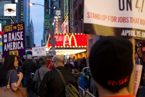 Fight for 15 MCD TimesSquare (i) Mindz Productions
